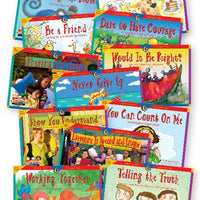 Character Education Readers Variety Pk Set/12
