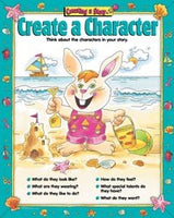Create-A-Story Chart Pack 5 Laminated Posters