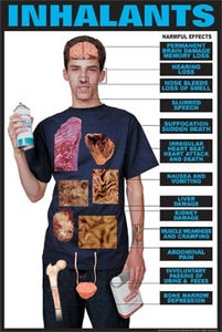 Drug Education Inhalants & Effects Transparency