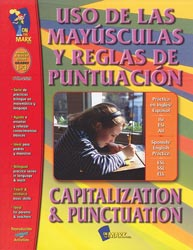 Capitalization & Punctuation Bilingual Book