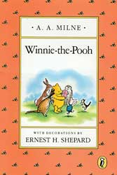 Winnie the Pooh Paperback Book