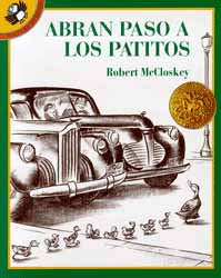 Make Way For Ducklings Spanish Paperback Book