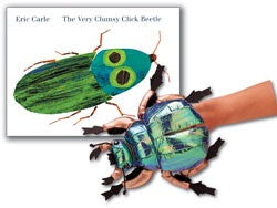 Very Clumsy Click Beetle Hardcover Book