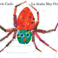 Very Busy Spider Spanish Hardcover Book