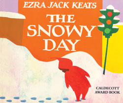 Snowy Day English Paperback Book