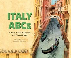 Italy ABCs Library Bound Book