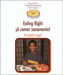 Eating Right Bilingual (English/Spanish) Book (Cle