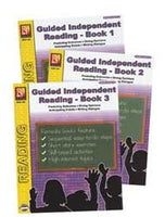 Guided Independent Reading Set of 3