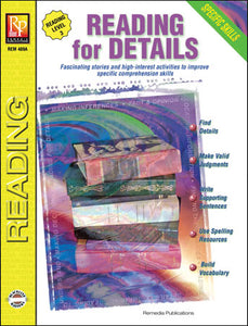 Reading - Reading For Details RL 3