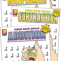 Addition (Timed Math Drills)