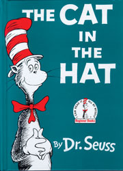 Cat in the Hat Hardcover Book