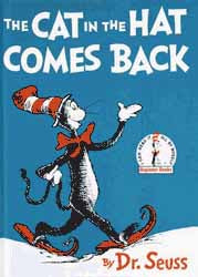 Cat in the Hat Comes Back Book