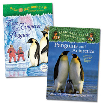 Magic Tree House Paired Reading Set - Penguins