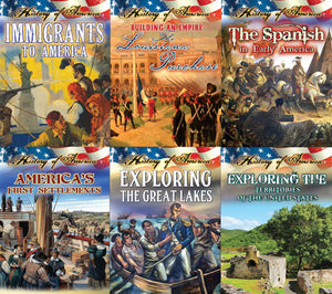 History Of America English Book Set