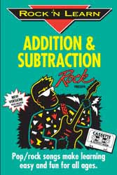 Addition & Subtraction Rock 'n Learn Audio CD