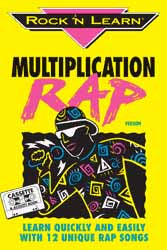 Multiplication Rap Book & CD