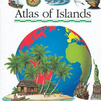 First Discovery Atlas of Islands Hardcover Book