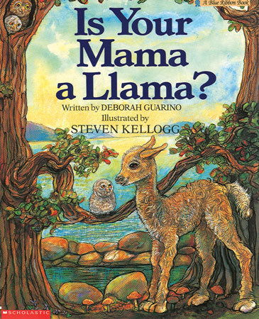 Is Your Mama a Llama? Paperback Book