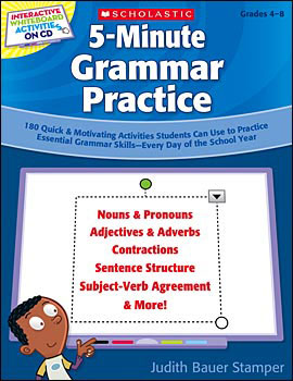 5-Minute Grammar Practice Book & CD