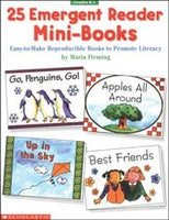 25 English Emergent Reader Mini-Books