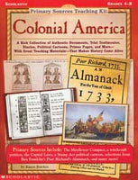 Primary Sources Teaching Kit Colonial America