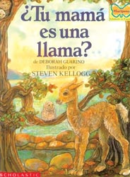 Is Your Mama a Llama? Spanish Paperback Book