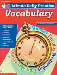 5 Minute Daily Practice - Vocabulary
