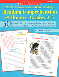 Week-by-Week Homework for Building Reading Compreh