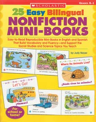 25 Easy Bilingual Nonfiction Mini Bks
