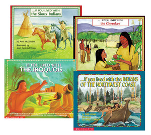 If You Lived with . . . Native Americans Book Set