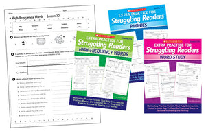 Extra Practice for Struggling Readers Complete Set