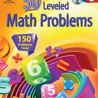 50 Leveled Math Problems Level 6