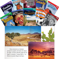 Time for Kids Nonfiction Spanish Book Sets