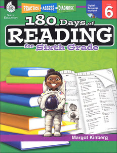 180 Days of Reading for Grade 6 Book