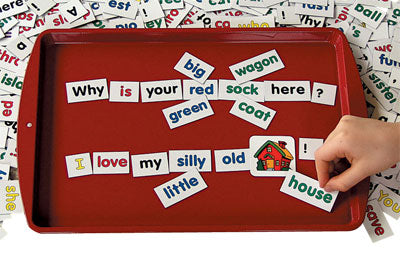 Individual Sized Magnetic Board - Red