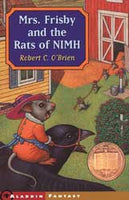 Mrs. Frisby & the Rats of NIMH Paperback Book