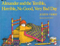 Alexander and the Terrible, Horrible, No Good, Very Bad Day Paperback Book