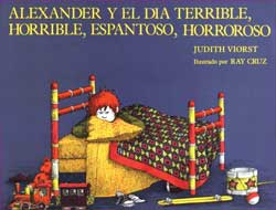 Alexander & the Terrible Day Spanish Paperback Book