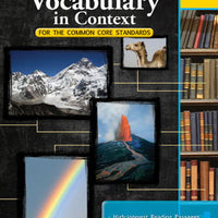 Vocabulary in Context for the Common Core Standards Grade 4