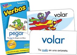 Action Words Spanish Flash Cards