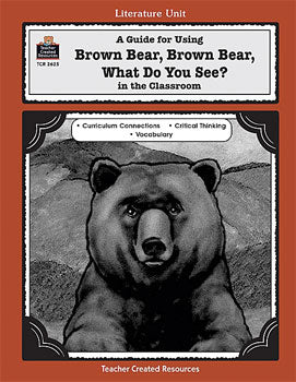 Brown Bear, Brown Bear Literature Unit