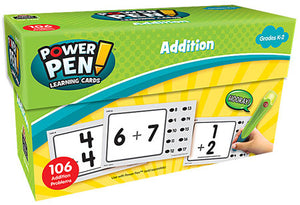 Addition Power Pen Learning Cards