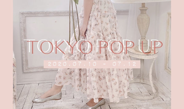 SHIBUYA POP UP SHOP ♡ 2020.07.10 (FRI) - 07.12 (SUN) | MAISON MARBLE