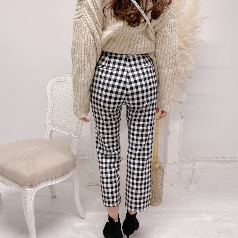 Gingham Pants - MAISON MARBLE