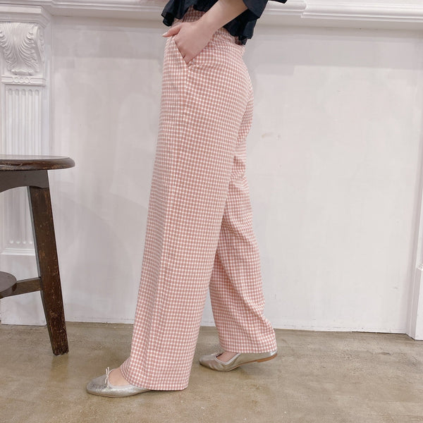 Spring Gingham Pants - MAISON MARBLE