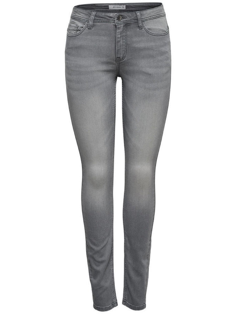 Jacqueline de Yong Jake Grey Denim Skinny Fit Jeans