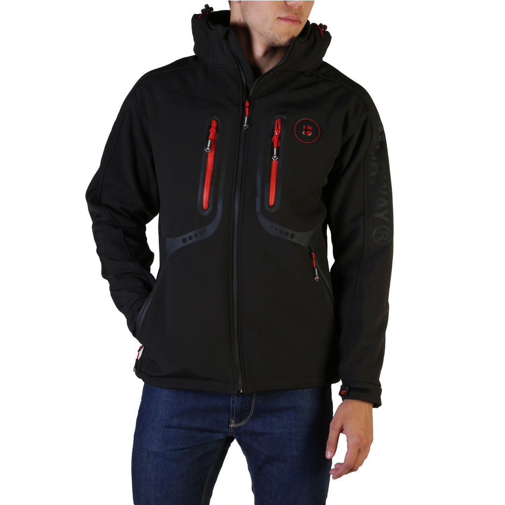 Geographical Norway Men Tinin Black Jacke