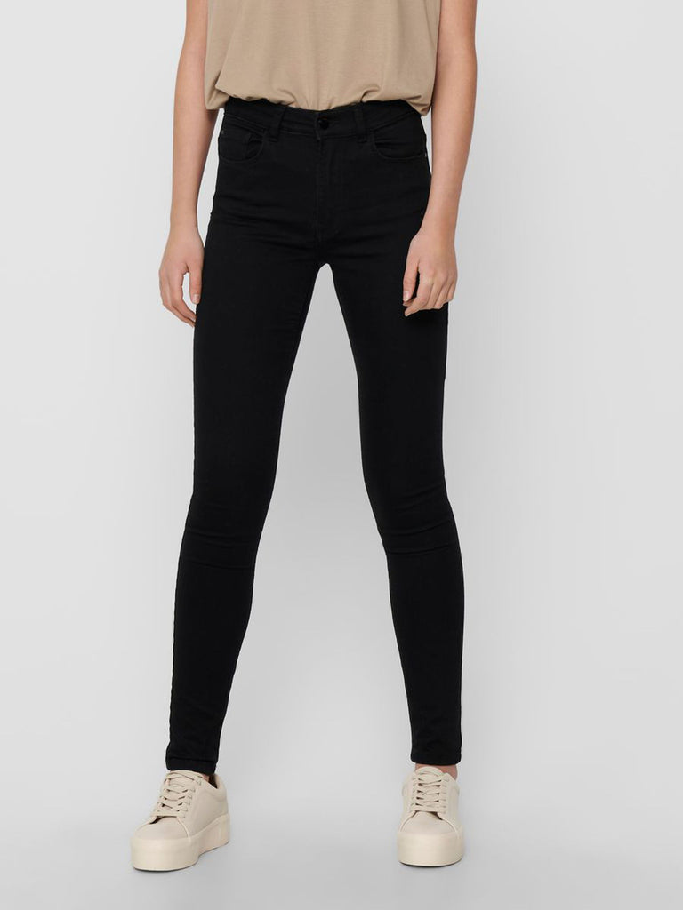 Jacqueline de Yong New Nikki Life High Skinny Black Denim Jeans