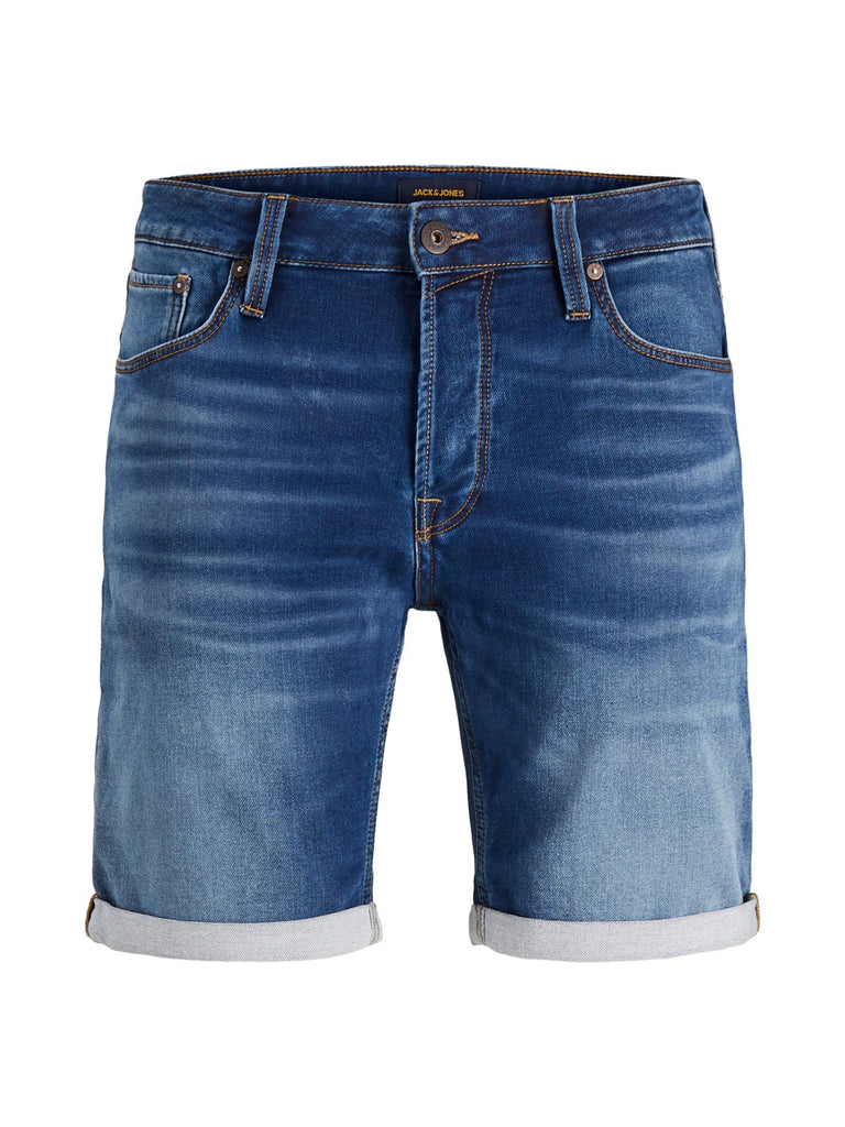 Jack & Jones Intelligence Rick Icon Shorts 006 Blue Denim kurze Hose
