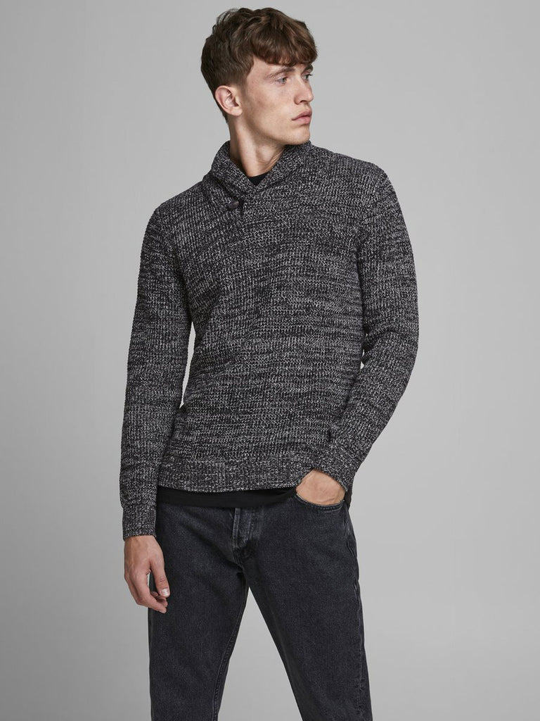 Jack & Jones Intelligence Vincent Knit Schalkragen Pullover